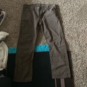 Brown Levi strauss co jeans